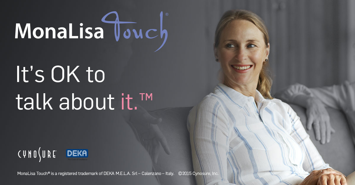 Mona Lisa Touch laser treatment for menopause and vaginal dryness